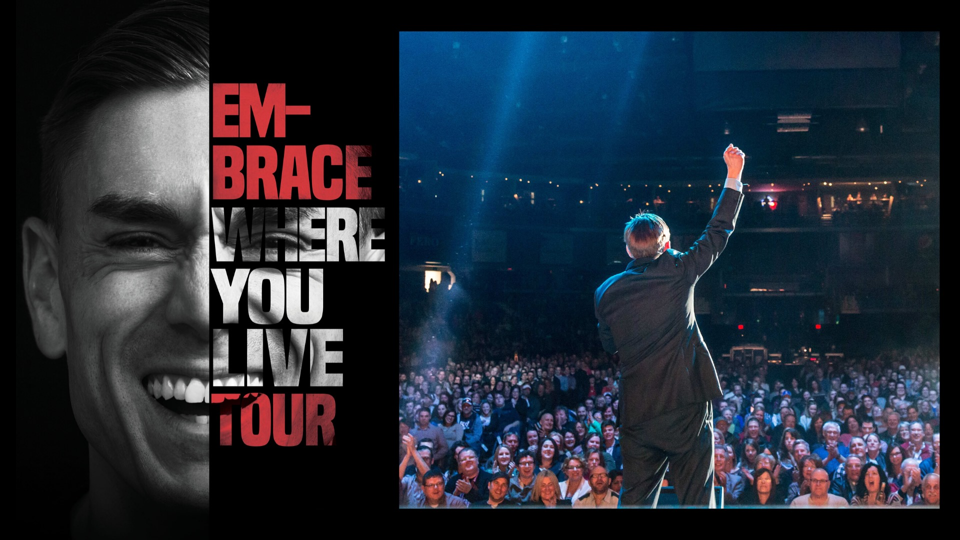 James Mullinger - Embrace Where You Live Comedy Tour